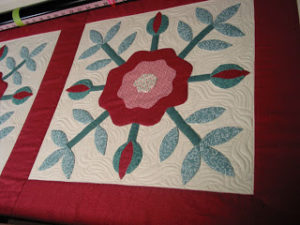 mctavishing on applique blocks