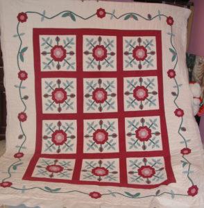 Floral Applique Quilt