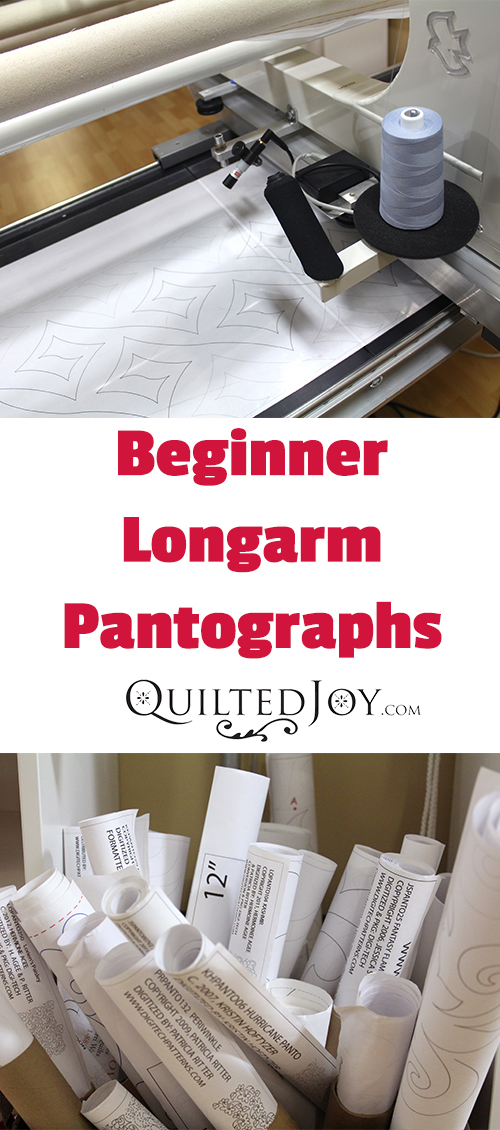 photograph relating to Free Printable Pantograph Quilting Patterns called Sensible Commencing Longarm Pantographs