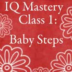 Intelliquilter Baby Steps Class