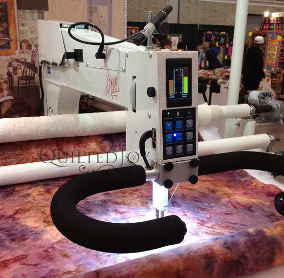 APQS Mille long arm quilting machine