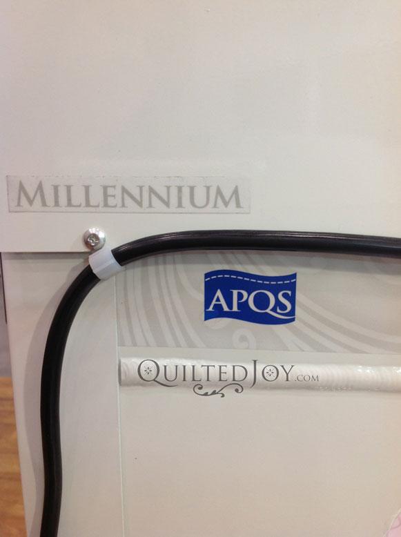 APQS Millennium long arm sewing machine