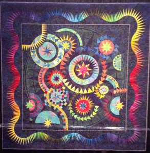 Cincinnati quilt festival 2012 part 2 for Celestial fleece fabric