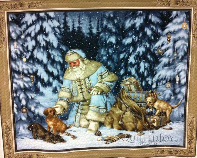 Santa Panel wideshot