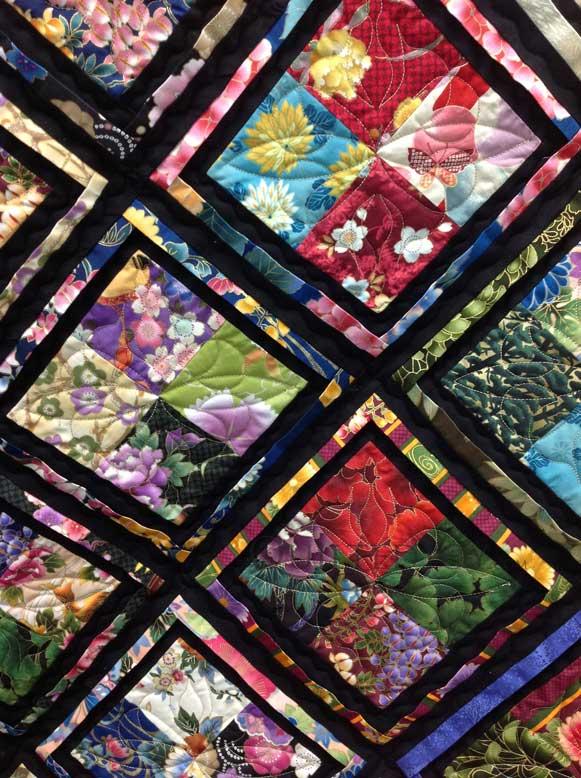 Oriental Quilts Pictures Oriental Four Patch Quilt