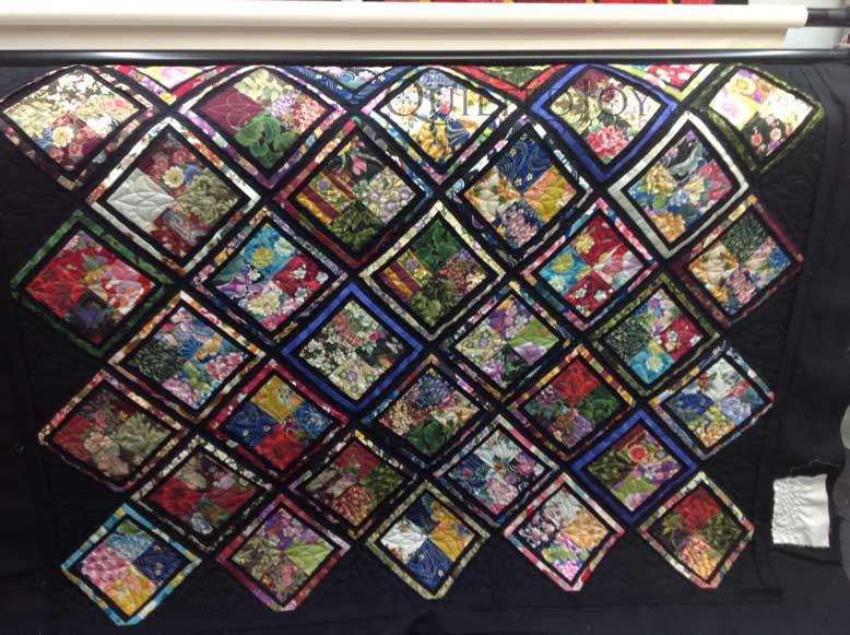 Oriental Quilts Pictures Oriental Four Patch Quilt Wide