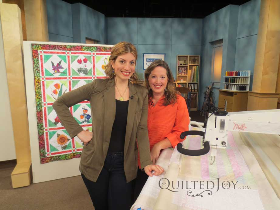Taping At Fons And Porters Love Of Quilting Show