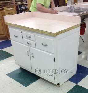 cutting Station cabinet