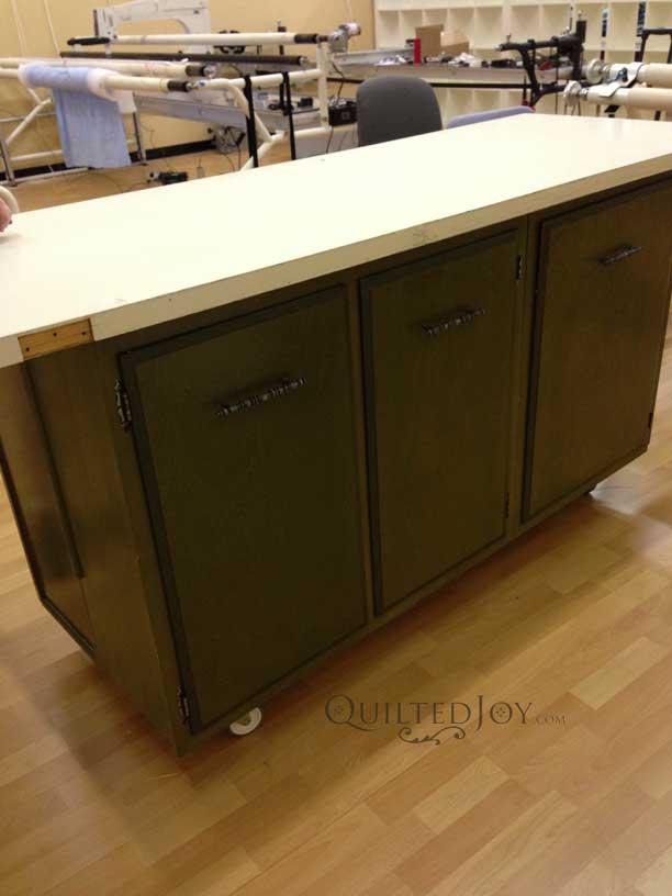Make quilting furniture
