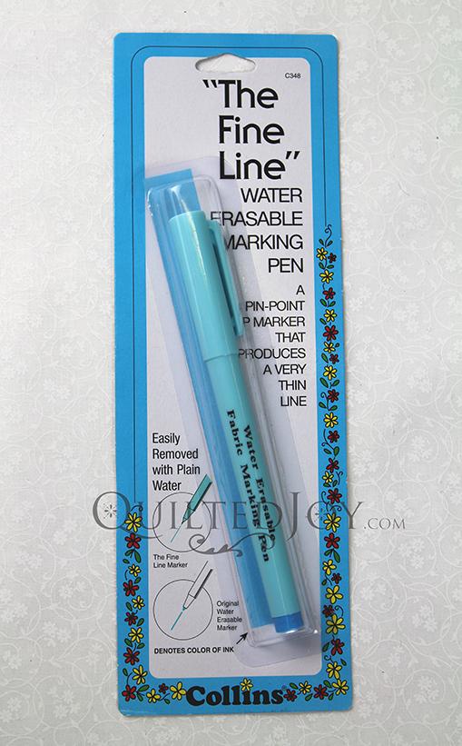 Fine Line Water Erasable Pen