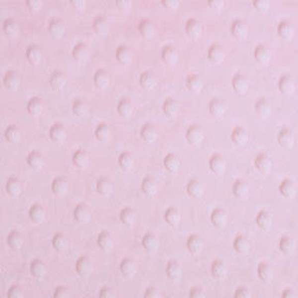 Cuddle Micro Fleece in Baby Pink - Available at QuiltedJoy.com