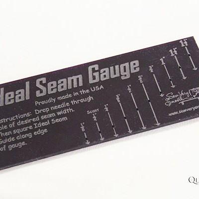 Ideal Seam Gauge - QuiltedJoy.com