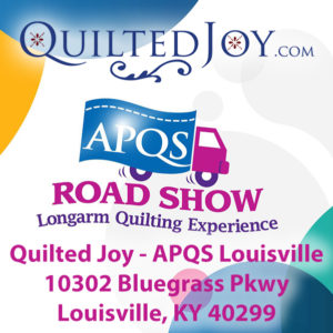 APQS Road Show at Quilted Joy - APQS Louisville