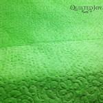 Backing on Lark's Quilt