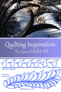 It's amazing where you can find inspiration for your quilting designs!