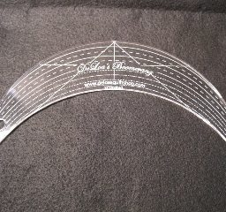 """12"""" Boomerang Guide Available at Quiltedjoy.com"""