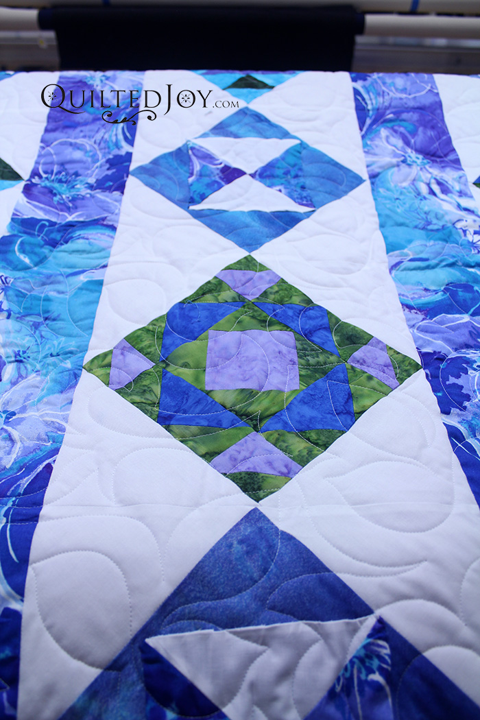 Tahiti Quilt Quilted Joy