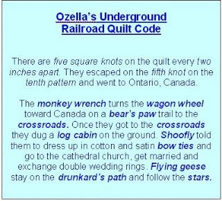 Underground Railroad Quilt Code-1 - : underground railroad quilt code patterns - Adamdwight.com