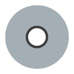 Magna-Glide M Bobbin - Light Grey