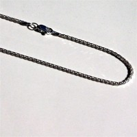 Sterling Silver Espiga Chain. Available at QuiltedJoy.com