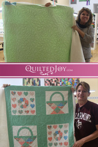 Quilted Joy's renters are always working on fun projects! - QuiltedJoy.com