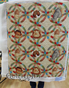 Four friends joined us in the Quilted Joy showroom to take their rental certification class together - QuiltedJoy.com