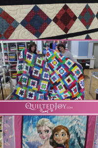 Colorful Longarm Quilters - catch up with Quilted Joy's renters and see the beautiful quilts they worked on.