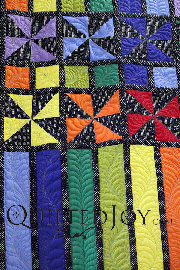 Quilting Feather DVD from Angela Huffman