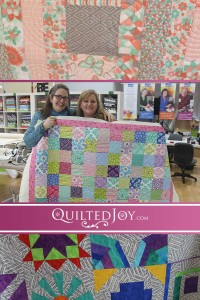 Many of Quilted Joy's renters like using design boards to easily quilt complex looking designs.