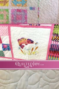 Our renters work on a variety of quilts. In this latest post, we share some of the baby quilts they've been working on.