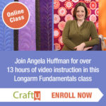 Online Class Longarm Fundamentals with Angela Huffman from CraftU