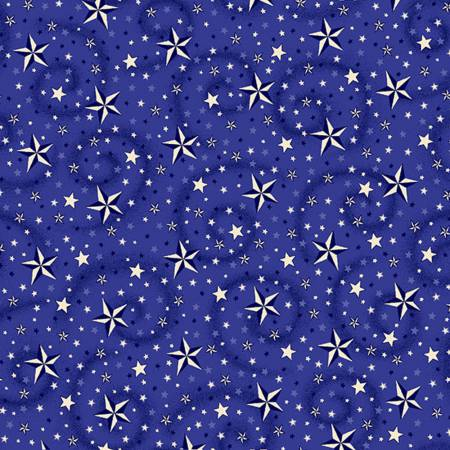 "American Dreams Blue, 108"" wide backing fabric"
