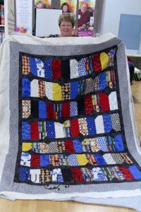 Brenda's Nancy Drew quilt for her son-in-law's nieces.