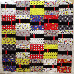 Colleen's Mickey and Minnie Mouse quilt for her grandkids