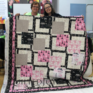 Kim's Paris quilt for her sister-in-law to commemorate her dream trip to Paris