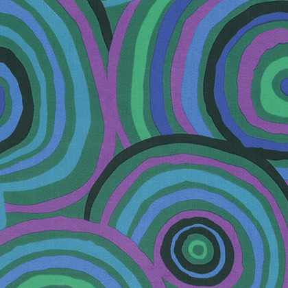 "Kaffe Fassett Circles 108"" Quilt Backing"