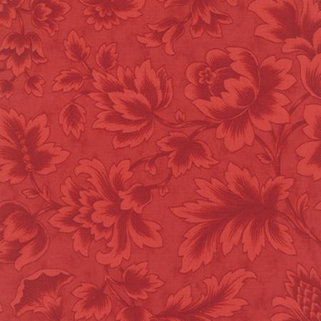 "Midnight Clear 108"" fabric in Crimson Glow from Moda Fabrics"