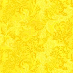 "Flourish in Yellow is a 108"" wide back fabric from South Sea Imports. A beautiful tonal fabric with a classic flourishing print. 100% cotton. Available at QuiltedJoy.com"