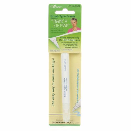 Brush Type Eraser Pen from Clover MFG Co.