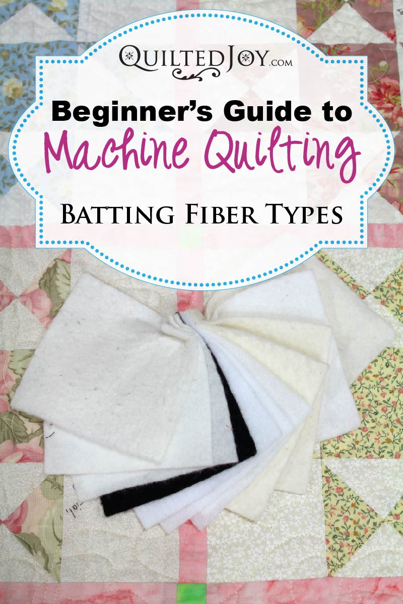 Beginner's Guide to Machine Quilting: Batting Fiber Types - : quilt batting types - Adamdwight.com