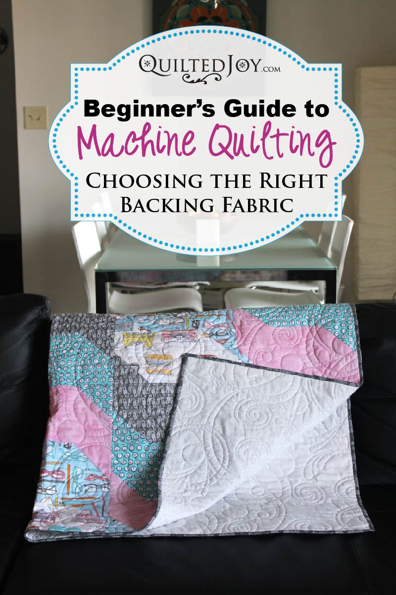 Beginner S Guide To Machine Quilting Choosing The Right