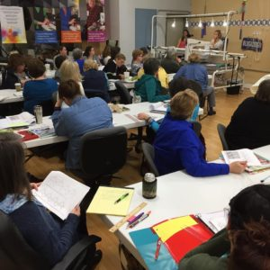 Full Class for the Judi Madsen Machine Quilting Camp at Quilted Joy