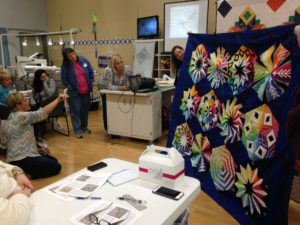 Judi Madsen gives suggestions on how to quilt a quilt