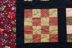 Civil War Reproduction 16 Patch Quilt