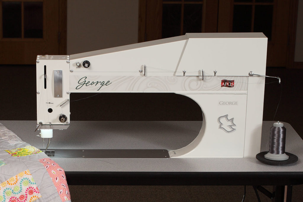 APQS George Longarm Quilting Machine