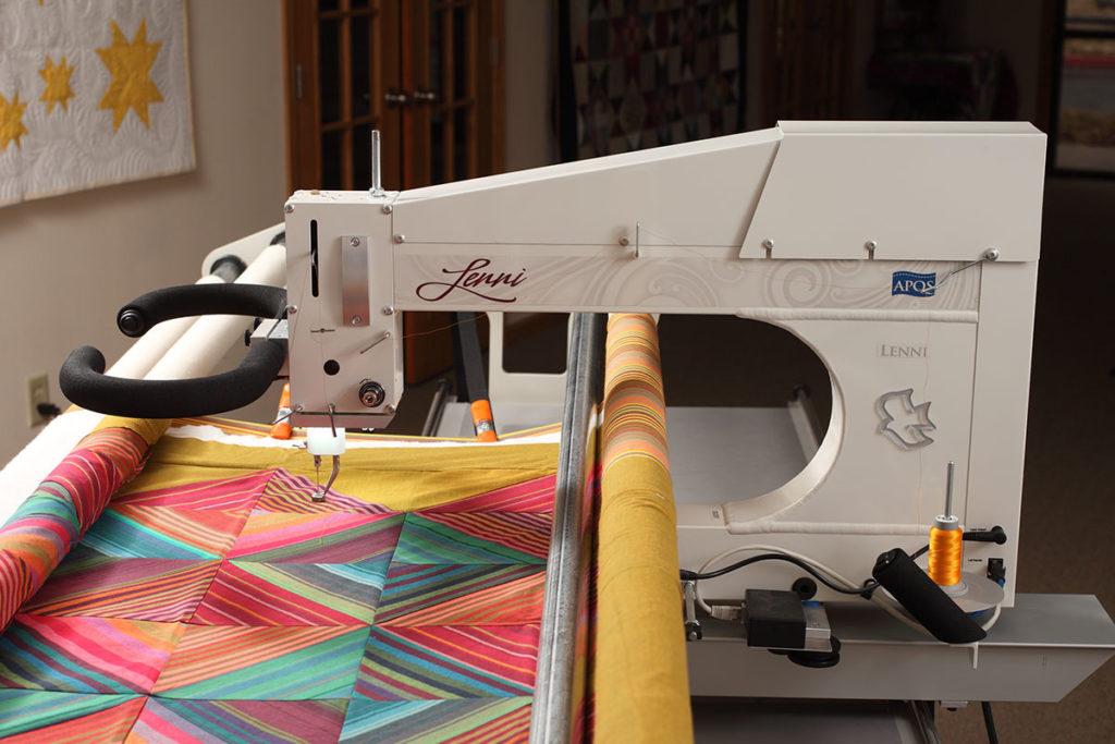 APQS Lenni Longarm Quilting Machine