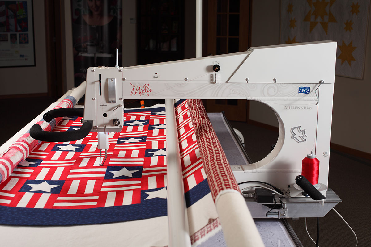 used arm ohio sewing in sale long quilting canada machines quilt for machine