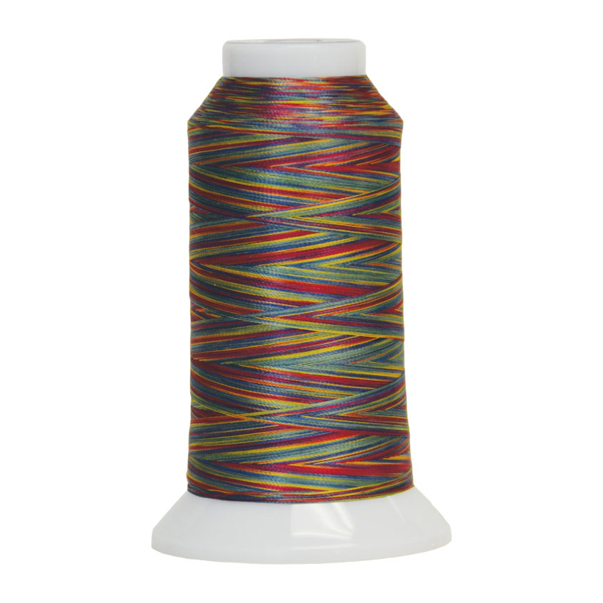 Fantastico Variegated Quilting Thread #5011 Stained Glass