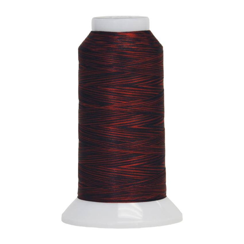 Fantastico Variegated Quilting Thread #5017 Lava Flow