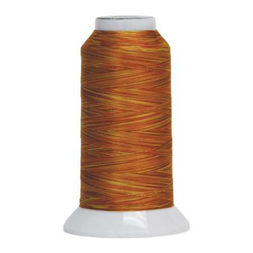 Fantastico Variegated Quilting Thread #5023 Orange Marmalade